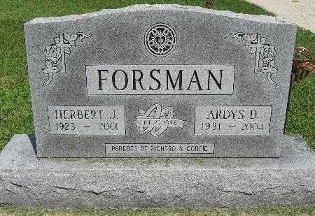 FORSMAN, ARDYS D. - Bremer County, Iowa | ARDYS D. FORSMAN