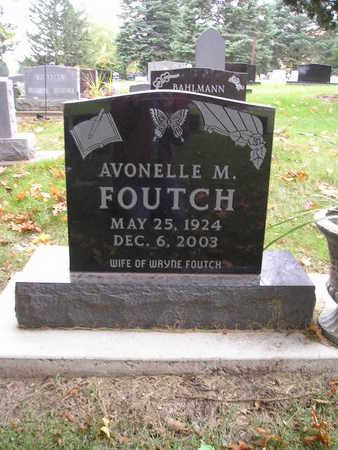 FOUTCH, AVONELLE M - Bremer County, Iowa | AVONELLE M FOUTCH