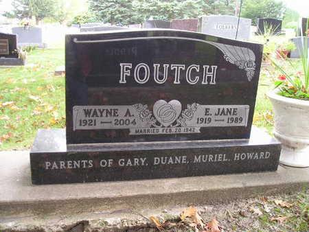 FOUTCH, E JANE - Bremer County, Iowa | E JANE FOUTCH