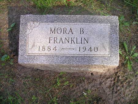 FRANKLIN, MORA B - Bremer County, Iowa   MORA B FRANKLIN