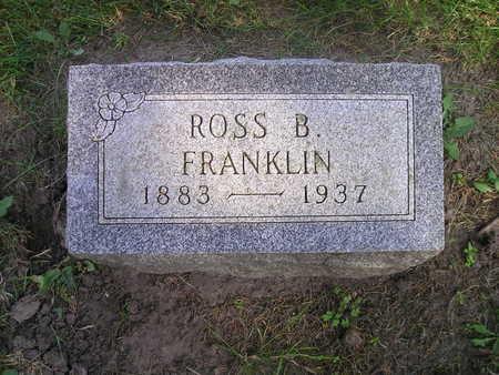 FRANKLIN, ROSS B - Bremer County, Iowa | ROSS B FRANKLIN