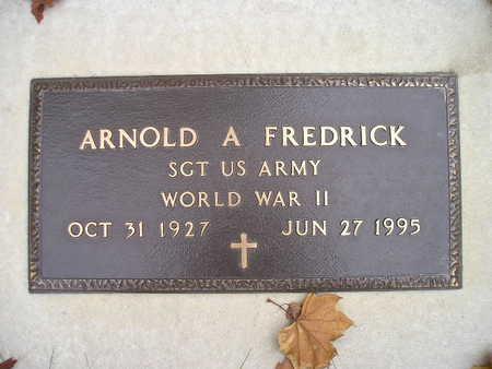 FREDRICK, ARNOLD A - Bremer County, Iowa | ARNOLD A FREDRICK