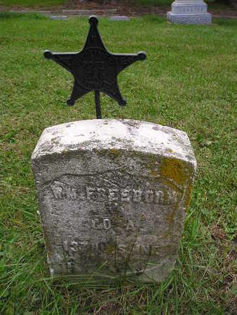 FREEBORN, W M - Bremer County, Iowa | W M FREEBORN