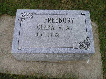 FREEBURY, CLARA V A - Bremer County, Iowa   CLARA V A FREEBURY