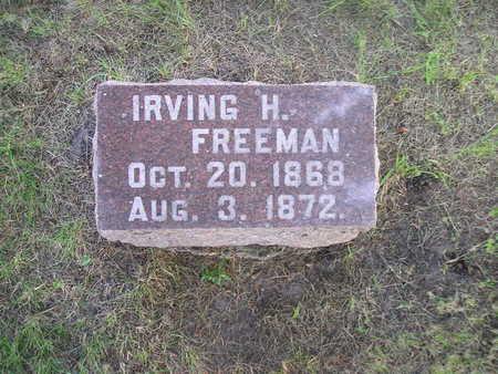 FREEMAN, IRVING H - Bremer County, Iowa | IRVING H FREEMAN