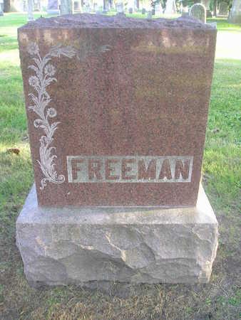 FREEMAN, LENA M - Bremer County, Iowa | LENA M FREEMAN