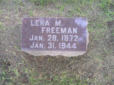 FREEMAN, LENA M - Bremer County, Iowa   LENA M FREEMAN