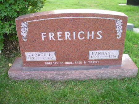 FRERICHS, HANNAH L - Bremer County, Iowa   HANNAH L FRERICHS