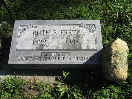 FRETZ, RUTH F - Bremer County, Iowa | RUTH F FRETZ