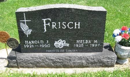 FRISCH, MELBA M - Bremer County, Iowa   MELBA M FRISCH