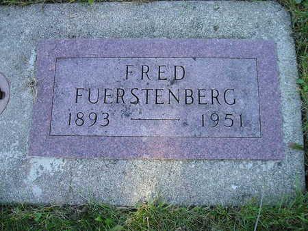FUERSTENBERG, FRED - Bremer County, Iowa   FRED FUERSTENBERG