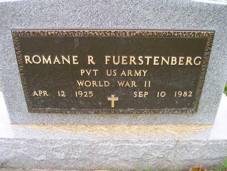FUERSTENBERG, ROMANE R - Bremer County, Iowa | ROMANE R FUERSTENBERG