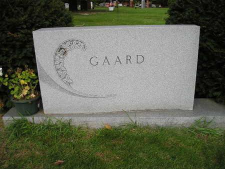 GAARD, FAMILY - Bremer County, Iowa | FAMILY GAARD