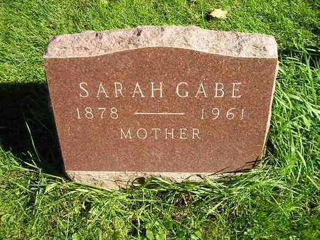 GABE, SARAH - Bremer County, Iowa | SARAH GABE