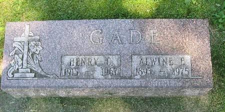GADE, HENRY C. - Bremer County, Iowa   HENRY C. GADE