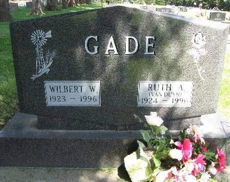 GADE, WILBERT W. - Bremer County, Iowa | WILBERT W. GADE