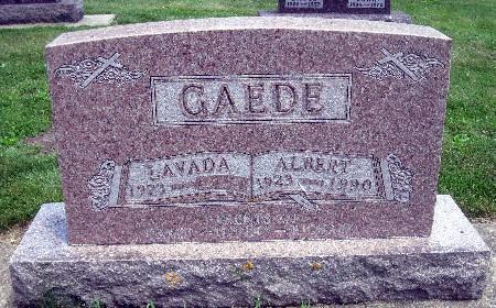 GAEDE, ALBERT - Bremer County, Iowa | ALBERT GAEDE