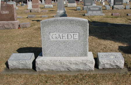 GAEDE, FAMILY - Bremer County, Iowa | FAMILY GAEDE
