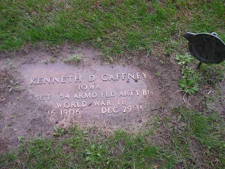 GAFFNEY, KENNETH D - Bremer County, Iowa   KENNETH D GAFFNEY