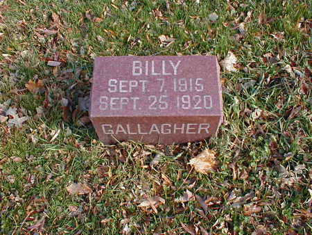 GALLAGHER, BILLY - Bremer County, Iowa | BILLY GALLAGHER