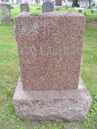 GALLAGHER, WILLIAM A - Bremer County, Iowa | WILLIAM A GALLAGHER