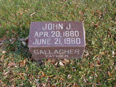 GALLAGHER, JOHN J - Bremer County, Iowa | JOHN J GALLAGHER