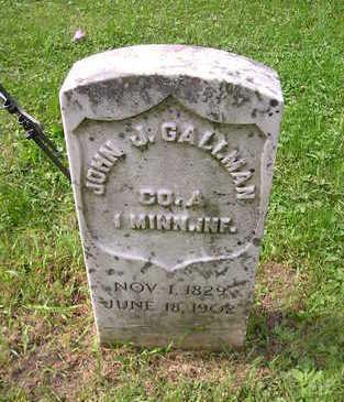 GALLMAN, JOHN J. - Bremer County, Iowa | JOHN J. GALLMAN