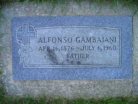 GAMBAIANI, ALFONSO - Bremer County, Iowa | ALFONSO GAMBAIANI