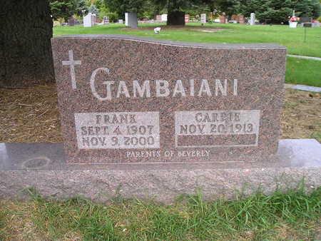 GAMBAIANI, CARRIE - Bremer County, Iowa | CARRIE GAMBAIANI