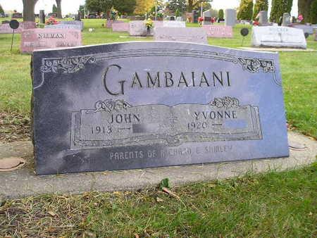 GAMBAIANI, JOHN - Bremer County, Iowa | JOHN GAMBAIANI