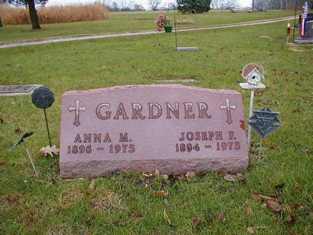 GARDNER, ANNA M - Bremer County, Iowa | ANNA M GARDNER
