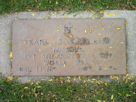 GARLAND, EARL S - Bremer County, Iowa | EARL S GARLAND