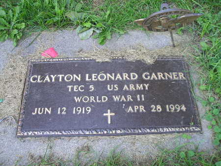 GARNER, CLAYTON LEONARD - Bremer County, Iowa | CLAYTON LEONARD GARNER