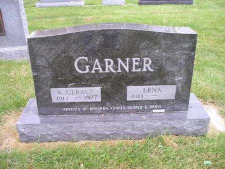 GARNER, ERNA - Bremer County, Iowa | ERNA GARNER