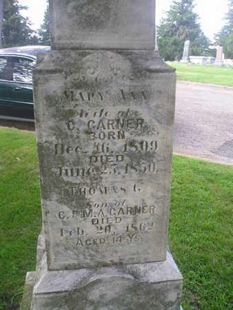 GARNER, MARY ANN - Bremer County, Iowa   MARY ANN GARNER