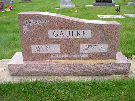 GAULKE, EUGENE L - Bremer County, Iowa | EUGENE L GAULKE
