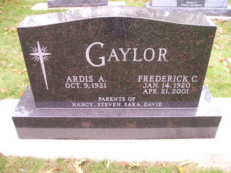 GAYLOR, ARDIS A - Bremer County, Iowa | ARDIS A GAYLOR