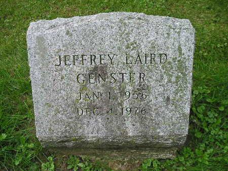 GENSTER, JEFFREY LAIRD - Bremer County, Iowa   JEFFREY LAIRD GENSTER
