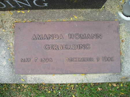 HOMANN GERBERDING, AMANDA - Bremer County, Iowa | AMANDA HOMANN GERBERDING