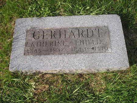 GERHARDT, PHILLIP - Bremer County, Iowa   PHILLIP GERHARDT