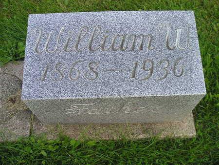 GETTS, WILLIAM W - Bremer County, Iowa   WILLIAM W GETTS