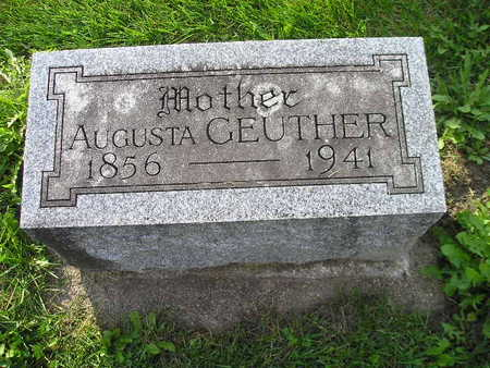 GEUTHER, AUGUSTA - Bremer County, Iowa | AUGUSTA GEUTHER