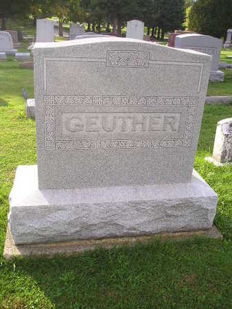 GEUTHER, FAMILY - Bremer County, Iowa | FAMILY GEUTHER