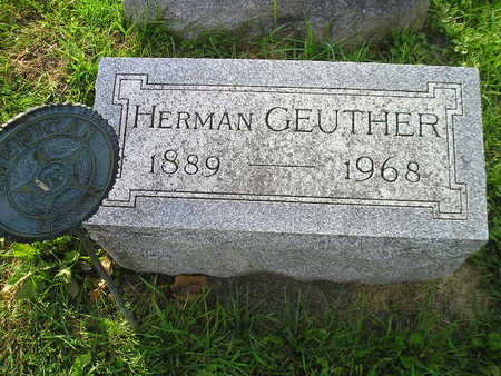 GEUTHER, HERMAN - Bremer County, Iowa | HERMAN GEUTHER