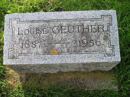 GEUTHER, LOUISE - Bremer County, Iowa | LOUISE GEUTHER