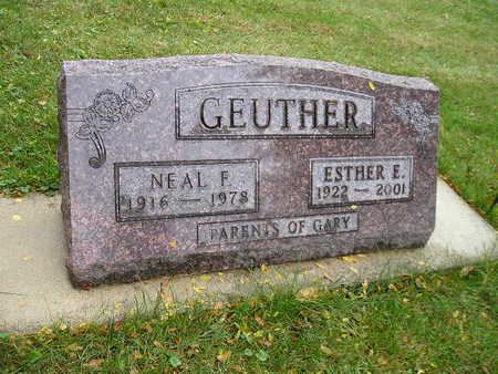 GEUTHER, ESTHER E - Bremer County, Iowa | ESTHER E GEUTHER
