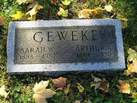GEWEKE, ARTHUR A - Bremer County, Iowa | ARTHUR A GEWEKE