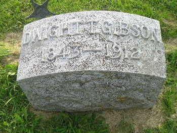 GIBSON, DWIGHT - Bremer County, Iowa | DWIGHT GIBSON