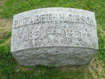 GIBSON, ELIZABETH - Bremer County, Iowa | ELIZABETH GIBSON