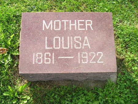 GIESLER, LOUISA - Bremer County, Iowa | LOUISA GIESLER
